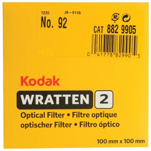 Filtro gelatina Kodak Wratten