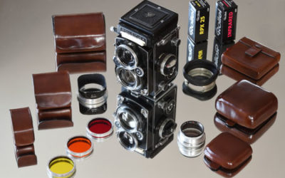 Rolleiflex: una fotocamera, mille accessori e una nuova soluzione per il loro trasporto.