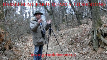 Hasselblad. Guida pratica di utilizzo: parte quarta. Lo shooting.