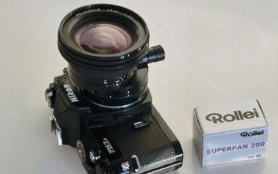 Raddrizziamo il mondo! Nikon PC Nikkor 28mm f/3.5