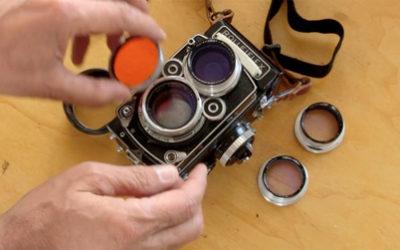 Fotografare con la Rolleiflex: guida all'uso delle lenti addizionali Rolleinar.
