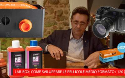 LAB-BOX. SVILUPPIAMO UNA PELLICOLA 120 CON IL MONOBATH ARS IMAGO