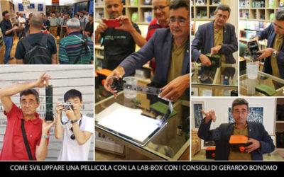 LAB-BOX: COME SVILUPPARE UNA PELLICOLA BN CON I CONSIGLI DI GERARDO BONOMO