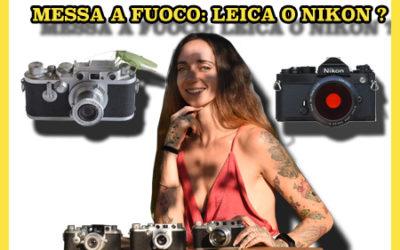 LEICA IIIf E NIKON FE: TELEMETRO CONTRO REFLEX