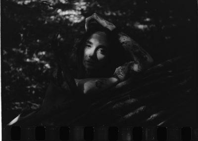 Leica III F Rollei Superpan 200 Angelica staccionata 1080