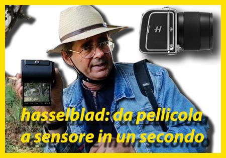 Hasselblad 907x CV II 50C: da pellicola a sensore in un secondo
