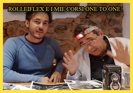 UNA ROLLEIFLEX PROTAGONISTA DI UN MIO CORSO ONE TO ONE
