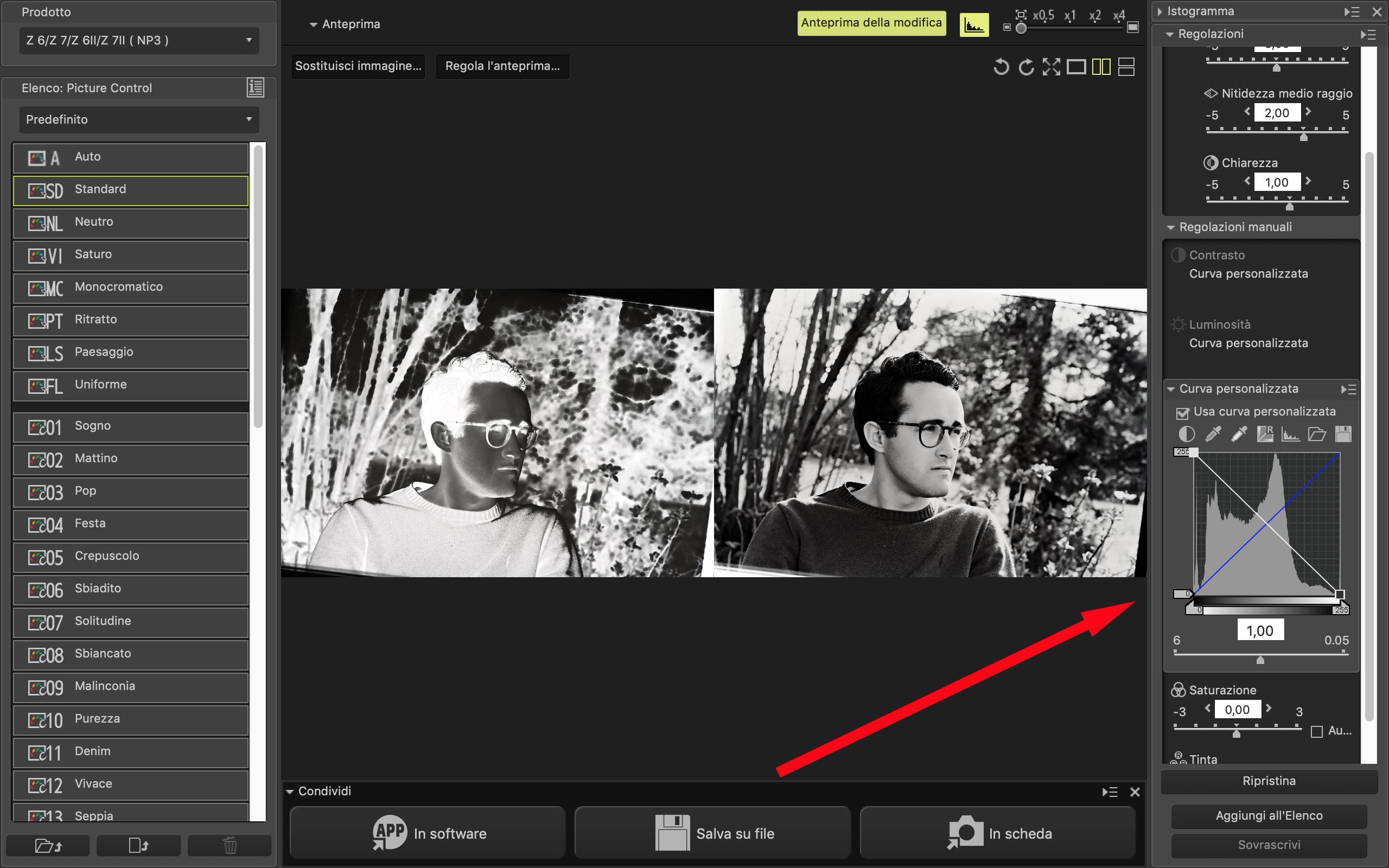 16 Nikon Z7 picture control