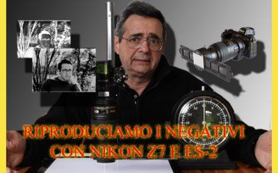 Riprodurre i negativi ad altissima risoluzione con Nikon Z 7 e adattatore ES-2